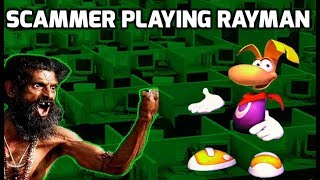 Download Scammer playing Rayman on my computer Video