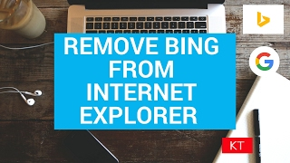 Download Remove bing from internet explorer and make Google your default search engine Video