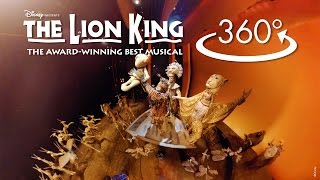 Download 'Circle of Life' in 360º | THE LION KING on Broadway Video