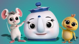 Download Luke & Lily - Luke and Lily | I am a Little Teapot | Nursery Rhymes | 3D Children Song Video