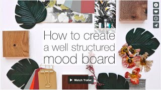 Download How to create a well structured mood board | Make professional and creative mood boards Video