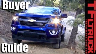Download 2017 Chevy Colorado & GMC Canyon Buyer Guide: Helping You Pick the Right Mid-Sized GM Truck Video