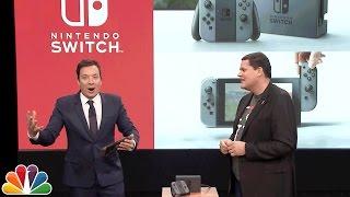 Download Jimmy Fallon Debuts the Nintendo Switch Video