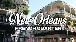 Download A DAY IN NEW ORLEANS - FRENCH QUARTER Video