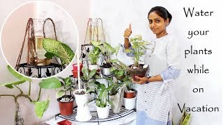 Download How to make your plant self watering | This will water your plants while on vacation ( Hindi ) Video