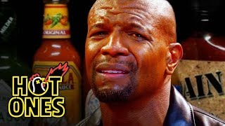 Download Terry Crews Hallucinates While Eating Spicy Wings | Hot Ones Video