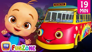 Download Wheels On the Bus - Dino Land, ABC Song Kids Videos | ChuChu TV Funzone 3D Nursery Rhymes for Baby Video