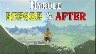 Download Hyrule BEFORE & AFTER! World Building in Zelda Breath of the Wild on Switch & Wii U Video