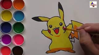 Download สอนวาดรูป การ์ตูน โปเกมอน พิคาชู Pikachu วาดการ์ตูน กันเถอะ สอนวาดรูป การ์ตูน Video