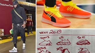 Download KANYE and ADIDAS Are Making YEEZY Basketball SNEAKERS From A Napkin - OUTSIDE THE BOX Video