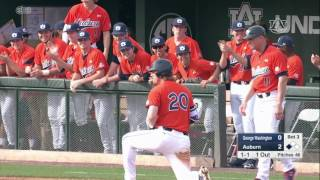 Download Auburn baseball defeats George Washington in season opener, 9-0 Video
