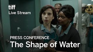Download THE SHAPE OF WATER Press Conference | Festival 2017 Video