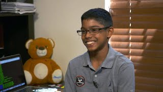 Download Meet a 12-year-old hacker and cyber security expert Video