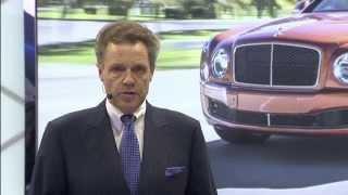 Download Bentley Motors Detroit Auto Show Press Conference 2015 Video