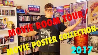 Download MOVIE ROOM TOUR/MOVIE POSTER COLLECTION- 2017 Video