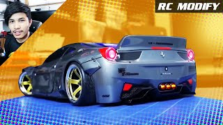 Download RC Modify 21 | Ferrari 458 Liberty Walk Sakura D4 RWD Video