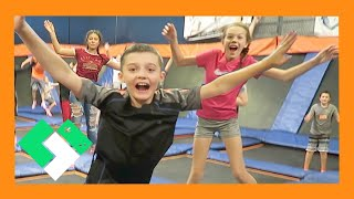 Download TRAMPOLINE PARK WITH FANS (Day 1698) Video