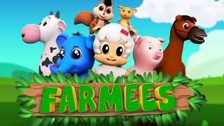 Download Animal nursery rhymes | Kids songs | Preschool videos for children Video