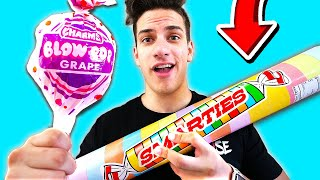 Download 10 DIY GIANT CANDY CHALLENGE! 🍬🍫 (PRANK WARS) (With MooseCraft) Video