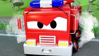 Download Auto patrouille Nederlands 🚓 Een GEVAARLIJKE spoorlijn 🚒 Autostad 🚓 cartoon voor kinderen Video