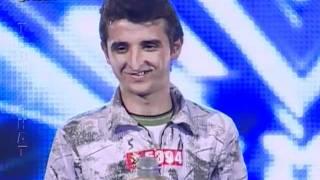 Download X Factor Albania - 8 Janar 2012 - Aziz Ruda Video