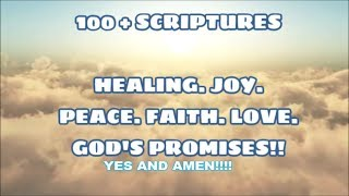 Download Bible Scriptures: Healing, Joy, Peace, Faith, Love, Strength in JESUS Video