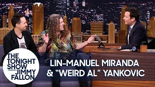 Download Jimmy Geeks Out with Lin-Manuel Miranda and ″Weird Al″ Yankovic Over Hamilton and Music Video