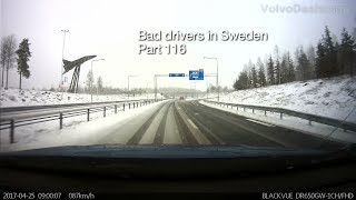 Download Bad Drivers in Sweden #116 April blizzard, cheaters and the mafia boys! Video