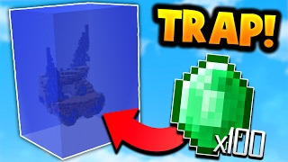 Download INSANE WATER SUFFOCATION TRAP in Minecraft Bed Wars! Video