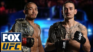 Download Max Holloway takes funny shot at Jose Aldo as they prep for UFC 212 | @TheBuzzer | UFC ON FOX Video