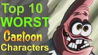 Download Top 10 Worst Cartoon Characters Video