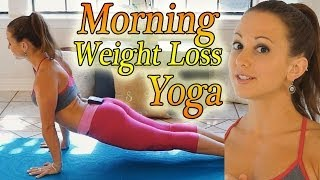 Download Morning Yoga For Weight Loss - 20 Minute Workout Fat Burning Yoga Meltdown Beginner & Intermediate Video