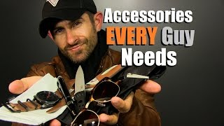 Download 10 Accessories EVERY Guy Needs | Men's Accessory Must Haves Video