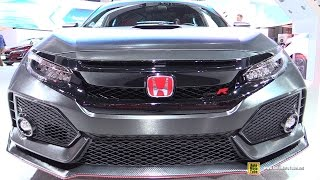 Download 2017 Honda Civic Type R - Exterior and Interior Walkaround - 2016 LA Auto Show Video