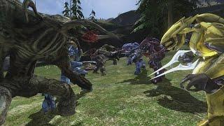 Download Halo 3 AI Battle - Flood vs Elites Video