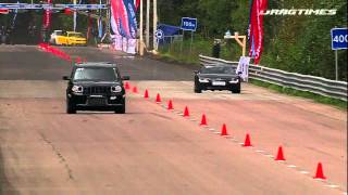 Download Audi R8 V10 VS Jeep grand cherokee SRT8 Video