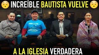 Download Bautista vuelve a la iglesia con los videos del p Luis toro - Gran Testimonio Video