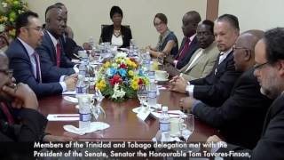 Download Prime Minister Rowley visits the Parliament of Jamaica - Gordon House Video