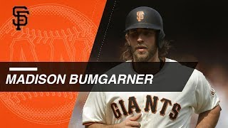 Download Madison Bumgarner's career home runs at the plate Video