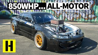 Download Most Savage N/A V8 Drift Build? Carl Thompson's 850hp Nissan S15 Video