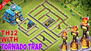 Anti 2 Star Best Th12 War Base 2018 With 3 Replays Anti Max
