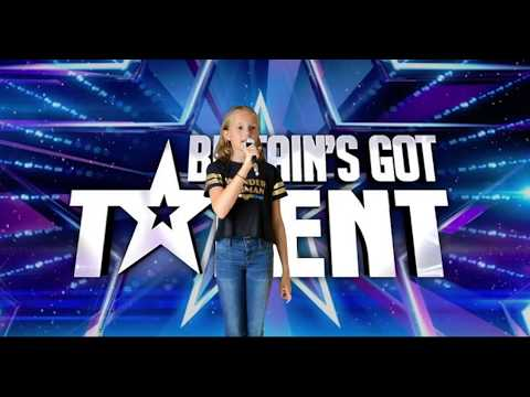Caitlyn Britains got talent