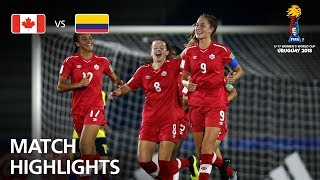 Download Canada v Colombia - FIFA U-17 Women's World Cup 2018™ - Group C Video