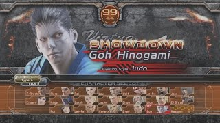 Download Virtua Fighter 5 : Final Showdown - Goh Playthrough (PS3) Video