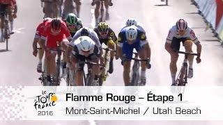Download Flamme rouge / Last kilometer - Étape 1 - Tour de France 2016 Video