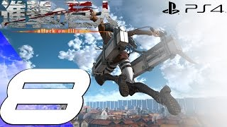 Download Attack on Titan PS4 - Gameplay Walkthrough Part 8 - Wings of Freedom Video