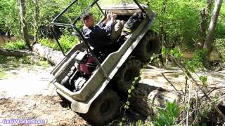 Download Amphibious 6x6 ATVs in Mud at Busco Beach Video