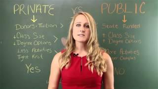 Download Choosing a US School: Private vs Public Video