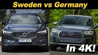 Download 2018 Audi SQ5 vs 2018 Volvo XC60 T8 Comparison Review Video