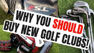 Download Why You SHOULD Buy New Golf Clubs Video